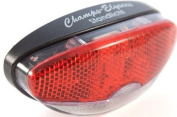 """Sport DirectTM Bicycle Bike """"Champs Elysees"""" LED Rear Dynamo Reflector Light For Luggage Carier"""