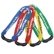 Masterlock Integrated Combi Chain Bike Lock - Assorted Colours ,900mm
