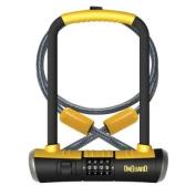 Onguard Bulldog Combo DT-8012C Combo Shackle Lock - Black, 11.5x23.0 cm