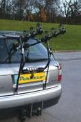 Peruzzo PER500 Verona 3 Bike Boot Fitting Rack - Black
