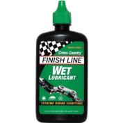 Finish Line Mountain Bike Wet Chain Lube 4oz / 120ml