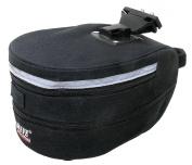 M-Wave Tilburg Large Clip On Saddle /Carrier Bag - Black