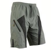 Mens Mountain Loose-fit Biking Shorts Padded Coolmax Cycling MTB Short M L XL 2XL