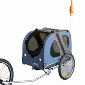 Doggyhut Large Dog Pet Bicycle Trailer in Blue