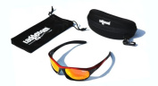 Ladgecom Polarised Sports Sunglasses with Revo Lens and Hard Case