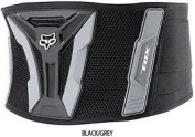 Fox Turbo kidney belt chest protector Gentlemen black/grey