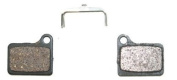 Clarks ORGANIC Bicycle Cycling Bike Disc Brake Pads - Shimano Deore Hydraulic BR-M555