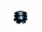 Weldtite WEL8040 Aheadset Star Nut - Silver, 2.5cm