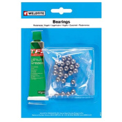 Weldtite Ball Bearings Loose and Grease - Silver, 0.5cm