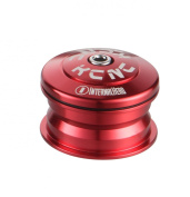 KCNC Kudos-Q1 semi-integrated 1/8 Zoll red Headset for bikes