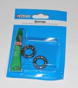 Weldtite Rear Hub Bearing Cage 0.6cm With Grease, Caged Precision Bearings, & The Little Bike Shop Bookmark