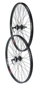 Tru-build Wheels RGH850 Front Disc Wheel - Black, 70cm