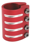 Barracuda Scooter Bar Clamp Cnc 4 Bolt Red