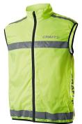 Hi-Viz Hi Vis High Visibility Fluorescent Running / Cycling Vest Gilet Top