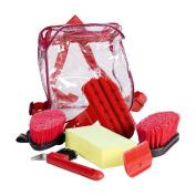 Grooming set, 6 Items - Dark Green - Grooming Kit