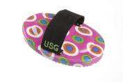 USG Brush with Dots/ Elastic Hand Loop/ PP Bristles, 17 cm/ 7 cm