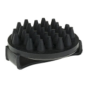 Massage Curry Comb - Black - Grooming Kit