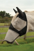 Rhinegold Horses Fly Mask With Ear And Nose Coverage
