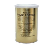 Gold Label Louse Powder for Horses, 400g - Non- Toxic lice repellent