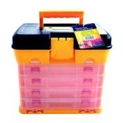 Fishing Tackle Box Art/Craft/Hobby/Tool Organiser Case