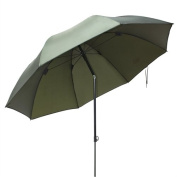 Ultra Fishing Angling 1.72m Umbrella without Zip Sides Windows Brolly