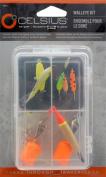 Celsius Ice Fishing Walleye Lure Kit