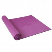 Yoga Exercise Fitness Workout Mat Physio Pilates Festivals Camping Gym Non Slip Mats in Black, Blue, Pink or Purple