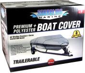 Boat Cover Silver Polyurethane
