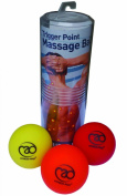 Fitness-Mad Trigger Point Massage Ball Set - Multicoloured