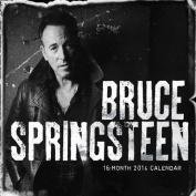 Bruce Springsteen 16-month Square Calendar 2014