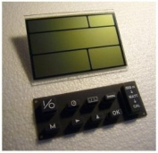 Concept 2 Rower PM2 Monitor Replacement LCD Display Screen (PN1416 Enhanced) & Rubber Keypad