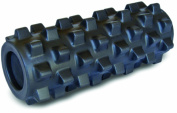 Rumble Roller Extra Firm Black - Compact Size 12.5cm x 30cm