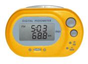 Oregon Scientific Basic Pedometer - Yellow, 24 G