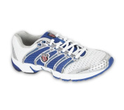 Ladies Trainers K Swiss 92243163 White Blue Size 7