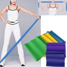 1.5m Yoga Pilates Rubber Stretch Resistance Exercise Fitness Band