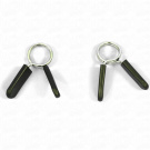 5.1cm X 2.5cm Spring Clamp Collar Clips for Weight Bar Dumbbells Gym Fitness Equipment