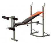 V-Fit STB-09-1 Herculean Folding Weight Training Bench