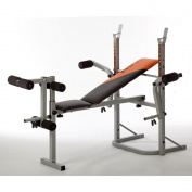 V-Fit STB-09-2 Herculean Folding Weight Training Bench