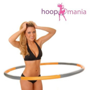 Hoopomania Light, Weight and Might Hoop, Wave Hula Hoop with foam cover 1.2-2.0 kg