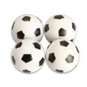 Vktech 4pcs 32mm Plastic Soccer Table Foosball Ball Football Fussball