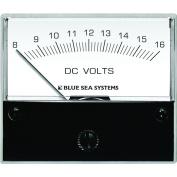 "Blue Sea 8003 DC Analog Voltmeter - 2-3/4"" Face 8-16 Volts DC"