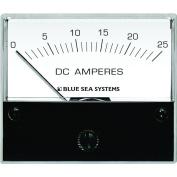 Blue Sea 8005 DC Analogue Ammeter - 5.1cm - 1.9cm Face, 0-25 Amperes DC