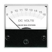 "Blue Sea 8028 DC Analog Micro Voltmeter - 2"" Face 8-16 Volts DC"