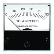 Blue Sea 8041 DC Analogue Micro Ammeter - 5.1cm Face, 0-50 Amperes DC