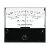 Blue Sea 8253 DC Zero Centre Analogue Ammeter - 5.1cm - 1.9cm Face, 100-0-100 Amperes DC