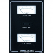 Paneltronics Standard DC Meter Panel w/Voltmeter & Ammeter