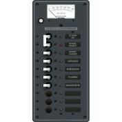 Blue Sea 8488 Breaker Panel - AC Main + 8 Positions - White