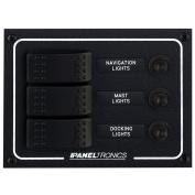 Paneltronics Waterproof DC 3 Position Lighted Rocker & CB