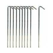 Diamond Football Company Metal Net Peg Set Goal Net Pegs - Metal