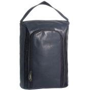 falcon, Balmoral FI8134Navy Leatherette shoe travel gym sports kit bag